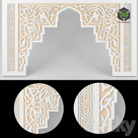 Moorish Molding(3ddanlod.ir) 1068