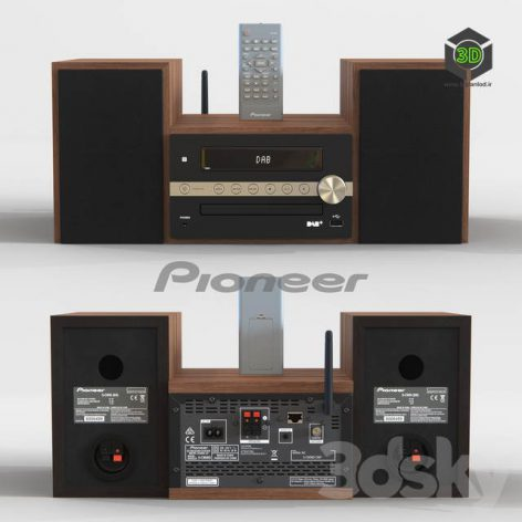 Pioneer X CM66D Microsystem(3ddanlod.ir) 1827