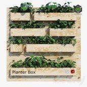 Planter Box Three(3ddanlod.ir) 1830