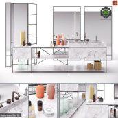 RIG Modules Bathroom with Decor Set 01(3ddanlod.ir) 2130