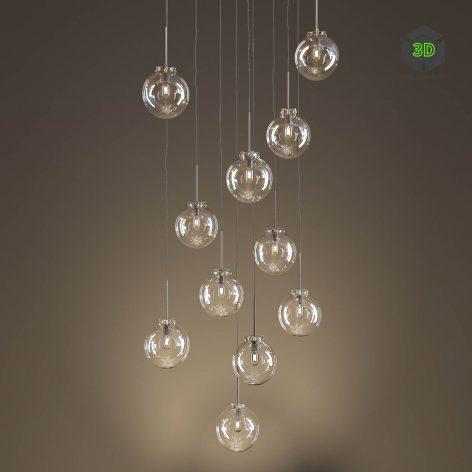 RUBN COPPOLA PENDANT LAMP(3ddanlod.ir) 2408