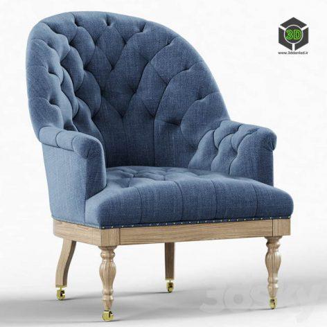 Restoration Hardware Vallette Chair(3ddanlod.ir) 2094