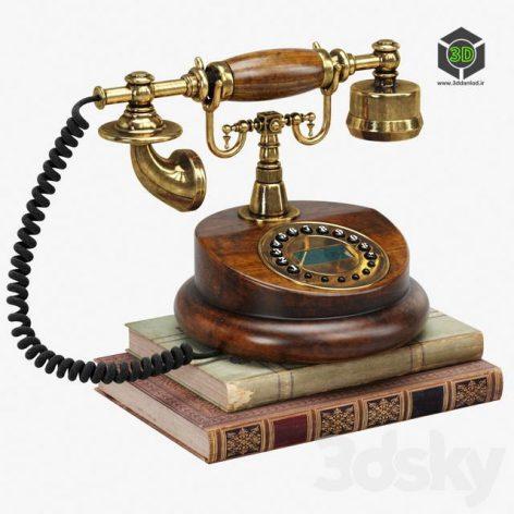 Retro Phone(3ddanlod.ir) 1916