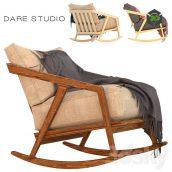 Rocking Chair Dare Studio Katakana Rocking Chair(3ddanlod.ir) 1686