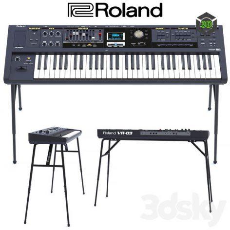 Roland VR 09(3ddanlod.ir) 1669