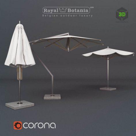 Royal Botania Umbrellas(3ddanlod.ir) 2364
