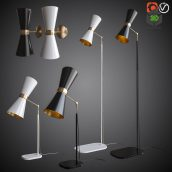 Sconces Floor and Table Lamps(3ddanlod.ir) 2361
