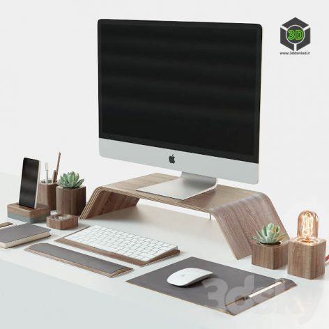 Set for Desktop IMac & Grovemade(3ddanlod.ir) 2067