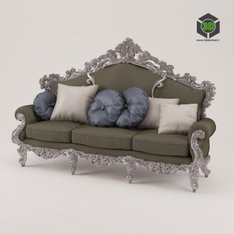 12408 sofa - ModeneseGastone (3ddanlod.ir)
