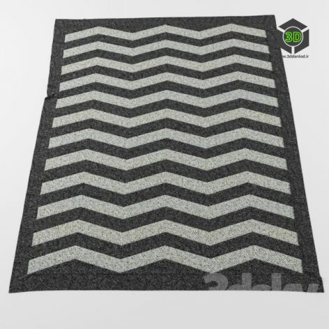 Carpet Zebrano Zou (3ddanlod.ir)