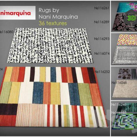 Collection of carpet Nani Marquina (3ddanlod.ir)