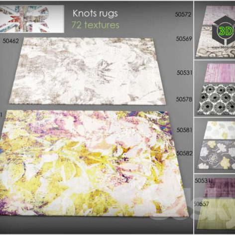 Collection rugs Knots rugs (3ddanlod.ir)