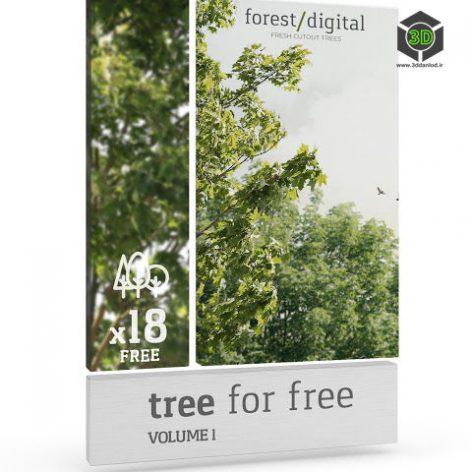ForestDigital Trees vol1 cover (3ddanlod.ir)