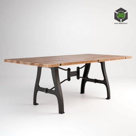 GABRIELLE MEDIUM TABLE 301.015M-REC (3ddanlod.ir)