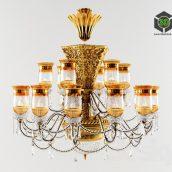 KnyDesign classic chandelier 008 (3ddanlod.ir)