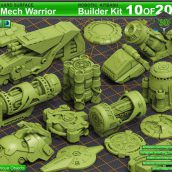 Mech_Warrior_Builder_Kit_ 10 001 cover (3ddanlod.ir)