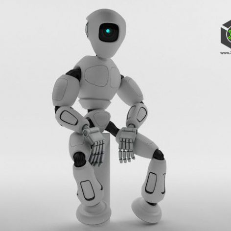 Robot RM100 003(3ddanlod.ir)