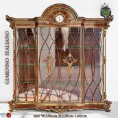 Showcase Classic RIVA Mobili(3ddanlod.ir) 1493