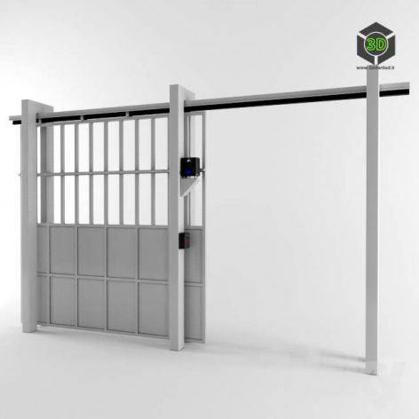 Sliding gates (3ddanlod.ir)