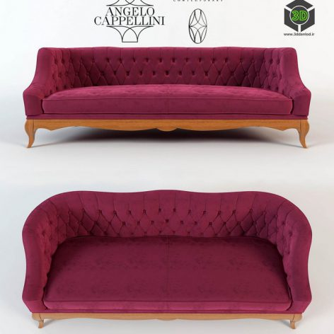 Sofa Angelo Cappellini Margherita Classic(3ddanlod.ir) 2437