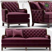 Sofa and Chair Opera SEBASTIAN CLASSIC(3ddanlod.ir) 2358