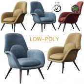 Swoon Lounge - Fredericia Furniture (2) (3ddanlod.ir)