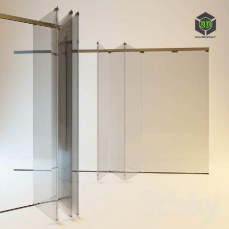 System of sliding doors (3ddanlod.ir)