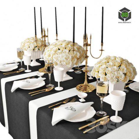 Table Setting 07(3ddanlod.ir) 2118