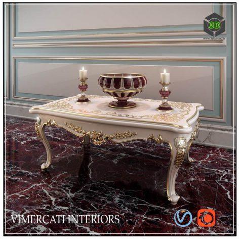 Table VIMERCATI INTERIORS(3ddanlod.ir) 2409