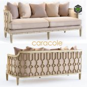The Bee Knees Caracole Sofa(3ddanlod.ir) 2338