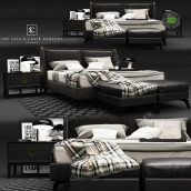 The Sofa and Chair Company Enzo Bed(3ddanlod.ir) 2274