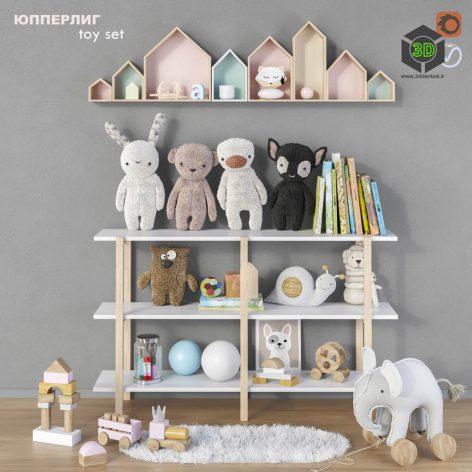 Toys and Furniture Set 13(3ddanlod.ir) 2449