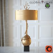 Twig Bulb Lamp Brass(3ddanlod.ir) 2272