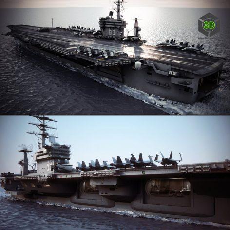 USS nimitz Aircraft Carrier 3
