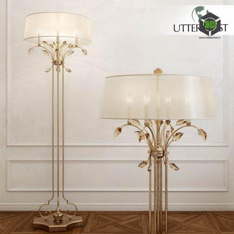 Uttermost Alenya Floor Lamp(3ddanlod.ir) 2458