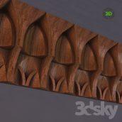 Uzbek wooden 006 (3ddanlod.ir)