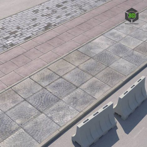 Versions of the Sidewalk With the Road(3ddanlod.ir) 2397