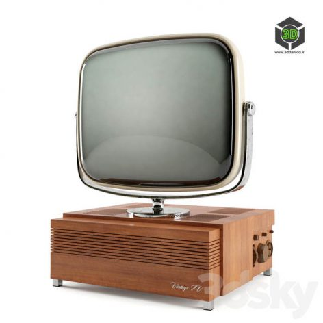 Vintage TV(3ddanlod.ir) 1884