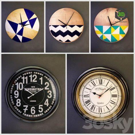 Wall Clocks(3ddanlod.ir) 1579