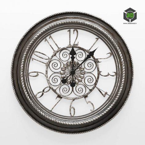 Wall Quartz Clock Hoff(3ddanlod.ir) 2268