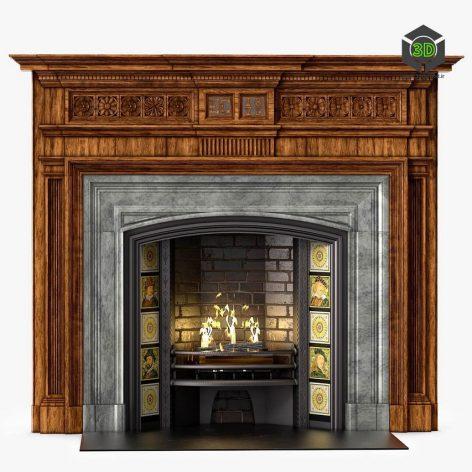 Westland Chimneypieces Victorian Stock(3ddanlod.ir) 1497