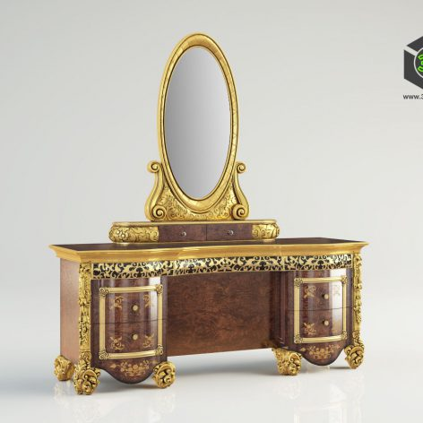 classic furniture 1580S (3ddanlod.ir)