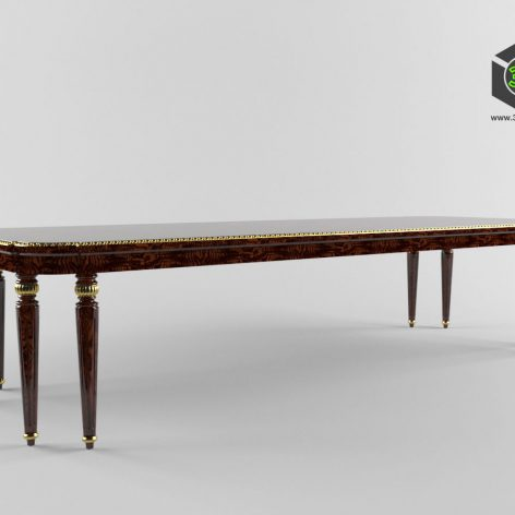 classic furniture 1606A (3ddanlod.ir)