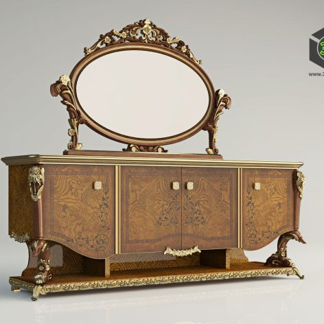 classic furniture 203 (3ddanlod.ir)