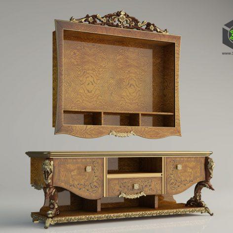 classic furniture 254 (3ddanlod.ir)