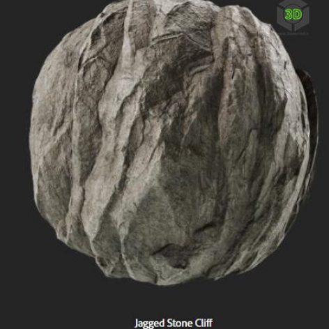 jagged_stone_cliff (3ddanlod.ir)