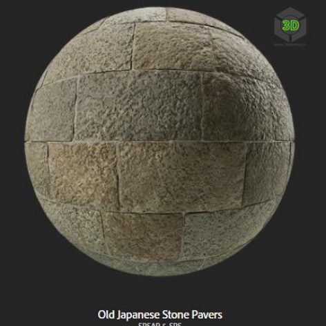 old_japanese_stone_pavers (3ddanlod.ir)