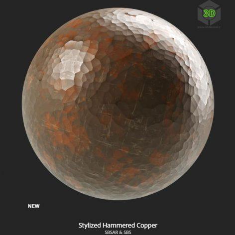 stylized_hammered_copper (3ddanlod.ir)
