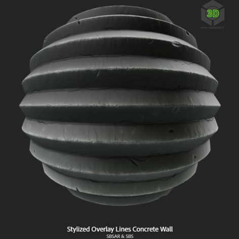 stylized_overlay_lines_concrete_wall (3ddanlod.ir)