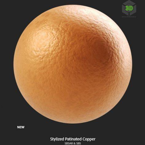 stylized_patinated_copper (3ddanlod.ir)